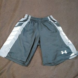 2 pairs of boys Under Armour shorts!